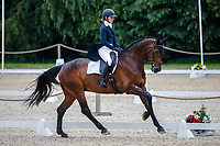 AUS-Sophie Adams rides Ridire Dorcha during the Dressage for the CCI-S 4*. 2021 GBR-Bicton International Horse Trials. Devon. Great Britain. Friday 11 June. Copyright Photo: Libby Law Photography