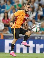 Galatasaray's Emre Colak during XXXVI Santiago Bernabeu Trophy. August 18,2015. (ALTERPHOTOS/Acero)