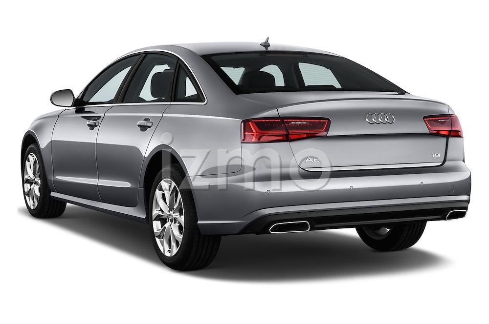 Car pictures of rear three quarter view of 2016 Audi A6 - 4 Door Sedan Angular Rear