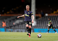 23rd May 2021; Craven Cottage, London, England; English Premier League Football, Fulham versus Newcastle United; Sean Longstaff of Newcastle United passing the ball into midfield