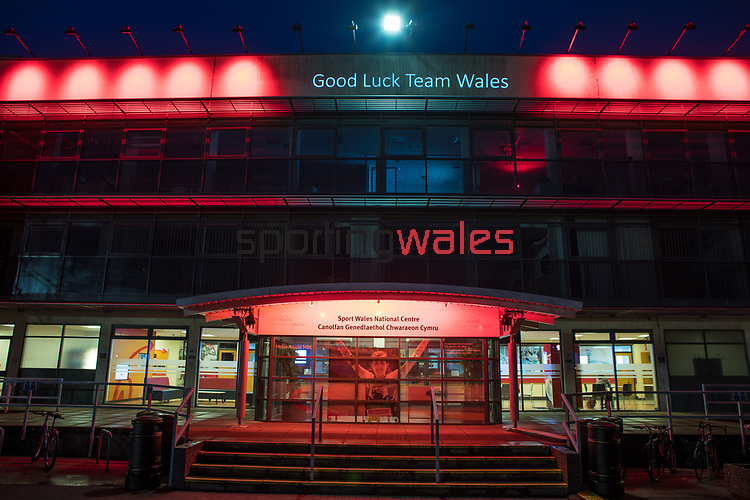 Sport Wales<br /> Turn Wales Red for Team Wales<br /> 23.03.18<br /> Steve Pope ©Sportingwales