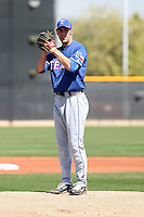 Nick McBride, Texas Rangers 2010 minor league spring training..Photo by:  Bill Mitchell/Four Seam Images.