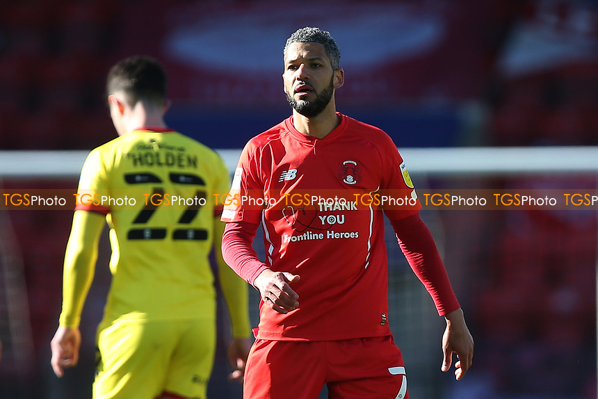 Leyton Orient manager Jobi McAnuff during Leyton Orient vs Walsall, Sky Bet EFL League 2 Football at The Breyer Group Stadium on 5th April 2021