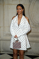 Paris, France September 27 : Rihanna attends the Christian Dior Ready To Wear Spring/Summer 2017 show as part of Paris Fashion Week on September 27; 2016 in Paris, France. # FASHION WEEK - PEOPLE AU DEFILE DIOR.