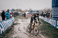 Thijs Aerts (BEL/Telenet Fidea Lions)<br /> <br /> Elite Men's Race<br /> Belgian National CX Championschips<br /> Kruibeke 2019