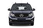 Car photography straight front view of a 2015 Mercedes Benz Citan 109 Cdi 5 Places 5 Door Passenger Van Front View