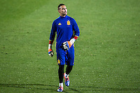 Spainsh Sergio Asenjo during the training of the spanish national football team in the city of football of Las Rozas in Madrid, Spain. November 08, 2016. (ALTERPHOTOS/Rodrigo Jimenez) ///NORTEPHOTO.COM