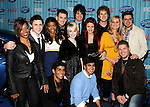 The Top 13 Contestants at the American Idol Top 12 Party at AREA on March 5, 2009 in Los Angeles, California...Photo by Chris Walter/Photofeatures.