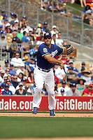 Rob Segedin - Los Angeles Dodgers 2016 spring training (Bill Mitchell)