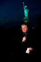 Mayor Bill de Blasio Delivers Remarks for National Memorial To Lives Lost To COVID-19