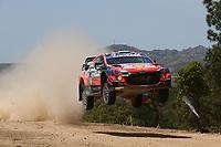 4th June 2021; Alghero, Sardinia; WRC rally of Italia Sardinia, stages  1-8;  Ott Tanak-Hyundai i20 WRC