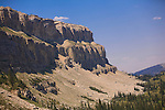 Part of the twelve mile long Chinese Wall in the Bob Marshall Wilderness in Montana