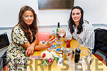 Sarah Griffin and Danielle Healy enjoying the evening in Sforno on Friday.
