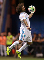 Real Madrid's Marcelo Vieira during La Liga match. August 20,2017.  *** Local Caption *** © pixathlon