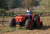 Pulizia dei campi, per prevenire incendi..Cleaning the fields, to prevent fires.. ...