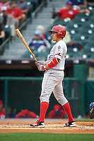 Louisville Bats third baseman Seth Mejias-Brean (5) at bat during a game against the Buffalo Bisons on June 20, 2016 at Coca-Cola Field in Buffalo, New York.  Louisville defeated Buffalo 4-1.  (Mike Janes/Four Seam Images)