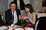 MARIO,ORFEO E LUISA TODINI<br /> PREMIO GUIDO CARLI - SECONDA EDIZIONE<br /> RICEVIMENTO A CASINA VALADIER ROMA 2011