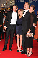 ETHAN HAWKE AND VINCENT D'ONOFRIO WITH THEIR WIVES RYAN AND CARIN - RED CARPET OF THE FILM 'THE MAGNIFICENT SEVEN' - 41ST TORONTO INTERNATIONAL FILM FESTIVAL 2016