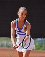 08-08-13, Netherlands, Rotterdam,  TV Victoria, Tennis, NJK 2013, National Junior Tennis Championships 2013, Sem Wensveen  <br /> <br /> <br /> Photo: Henk Koster