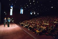 JUSTINE TRIET, FREDERIC BONNAUD - PROJECTION DU FILM 'VICTORIA' A LA CINEMATHEQUE FRANCAISE A L'OCCASION DE LA REPRISE DE LA SELECTION CANNOISE DE LA SEMAINE DE LA CRITIQUE