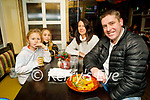 Liadh, Ella, Amy and Darragh O'Shea enjoying the evening in the Brogue Inn on Friday.