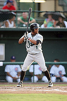 August 16, 2008: Jacob Blackwood (1) of the Jupiter Hammerheads at Jackie Robinson Ballpark in Daytona Beach, FL. Photo by: Chris Proctor/Four Seam Images