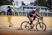 Pim Ronhaar (NED/Pauwels Sauzen-Bingoal), Ridley Bikes<br /> <br /> Elite Men's Race<br /> Zilvermeercross Mol (BEL) 2021<br /> <br /> ©Kramon