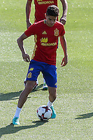 Spanish Marc Bartra during the second training of the concentration of Spanish football team at Ciudad del Futbol de Las Rozas before the qualifying for the Russia world cup in 2017 August 30, 2016. (ALTERPHOTOS/Rodrigo Jimenez) /NORTEPHOTO