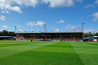 General view of the Main Stand ahead of Brighton & Hove Albion Women vs Arsenal Women, Barclays FA Women's Super League Football at Broadfield Stadium on 11th October 2020