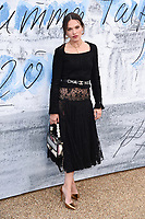 LONDON, UK. June 25, 2019: Anna Brewster arriving for the Serpentine Gallery Summer Party 2019 at Kensington Gardens, London.<br /> Picture: Steve Vas/Featureflash