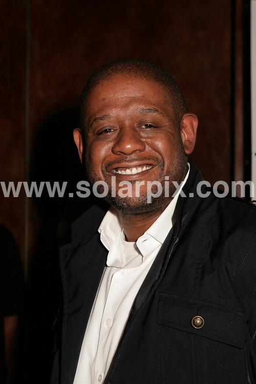 """**ALL ROUND PICTURES FROM SOLARPIX.COM**.**SYNDICATION RIGHTS FOR UK, SPAIN, PORTUGAL, AUSTRALIA, S.AFRICA & DUBAI (U.A.E) ONLY**.Forest Whitaker and Keisha Whitaker at the Premiere Party for TLC's """"Who Are You Wearing"""" at Stork in Los Angeles, USA. August 22, 2008..This pic: Forest Whitaker..JOB REF: 7105 PHZ/Tony Lowe  .DATE: 22_08_2008.**MUST CREDIT SOLARPIX.COM OR DOUBLE FEE WILL BE CHARGED* *UNDER NO CIRCUMSTANCES IS THIS IMAGE TO BE REPRODUCED FOR ANY ONLINE EDITION WITHOUT PRIOR PERMISSION*"""