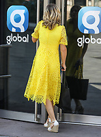 Celebrities at the Global Radio Studios in Leicester Square, London on June 26th 2020<br /> <br /> Photo by BDC/People Press