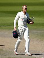 30th May 2021; Emirates Old Trafford, Manchester, Lancashire, England; County Championship Cricket, Lancashire versus Yorkshire, Day 4; Luke Wells of Lancashire