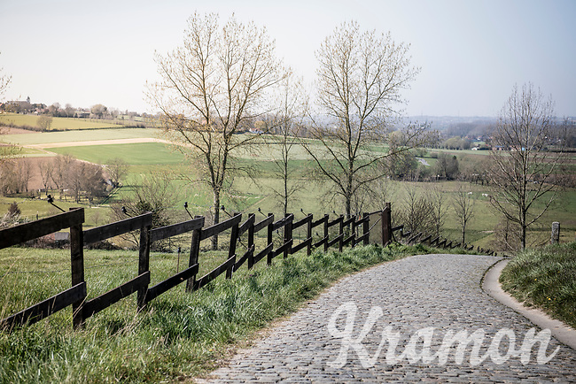 An empty Paterberg on the Ronde van Vlaanderen race day<br /> <br /> Due to the international pandemic caused by the coronavirus COVID-19, the 104th Ronde van Vlaanderen, like all other Spring Classics in 2020, was canceled which left the race roads (as the rest of the country in lockdown) eerily empty on (what was the original) race day…<br /> <br /> (was supposed to be a) 1 day race from Antwerp to Oudenaarde (257km)<br /> <br /> ©kramon