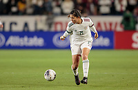 CARSON, CA - FEBRUARY 7: Kiana Palacios #8 of Mexico moves with the ball during a game between Mexico and USWNT at Dignity Health Sports Park on February 7, 2020 in Carson, California.