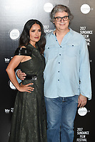 Salma Hayek and Miguel Arteta<br /> at the Sundance Film Festival:London opening photocall, Picturehouse Central, London.<br /> <br /> <br /> ©Ash Knotek  D3270  01/06/2017