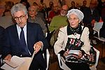 """EMMA BONINO E MASSIMO D'ALEMA<br /> CONVEGNO """"THINKING DEMOCRACY NOW"""" DELLA FONDAZIONE FELTRINELLI <br /> CENTRO STUDI AMERICANI ROMA 2020"""
