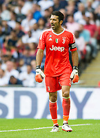 Juventus Gianluigi Buffon during the pre season friendly match between Tottenham Hotspur and Juventus at White Hart Lane, London, England on 5 August 2017. Photo by Andrew Aleksiejczuk / PRiME Media Images.