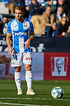 Kevin Rodrigues of CD Leganes during La Liga match between CD Leganes and RCD Espanyol at Butarque Stadium in Leganes, Spain. December 22, 2019. (ALTERPHOTOS/A. Perez Meca)