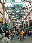 Jalang Petaling, the market in Chinatown, Kuala Lumpur.
