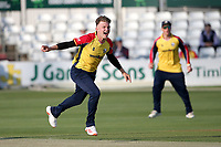 Sam Cook of Essex appeals for a wicket during Essex Eagles vs Hampshire Hawks, Vitality Blast T20 Cricket at The Cloudfm County Ground on 11th June 2021