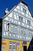 Altstadt von Obernburg am Main, Bayern, Deutschland