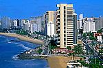 Cidade de Fortaleza no Ceará. 1998. Foto de Ricardo Azoury.