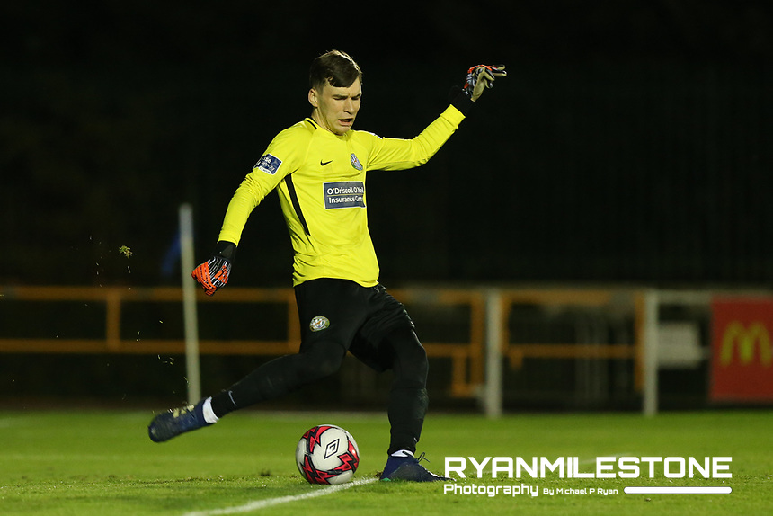 Mark O' Connor of Bray during the SSE Airtricity League Premier Division game between Waterford FC and Bray Wanderers on Friday 14th September 2018 at the RSC, Waterford. Photo By Michael P Ryan