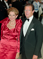 ARCHIVE: LONDON, UK:  c. 1989: Roger Moore & wife Luisa Mattioli.<br /> File photo © Paul Smith/Featureflash