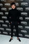 Actor Oscar Casas during the L'Oreal presentation ahead Of Feroz Awards 2020 in Madrid. 17 january 2020. (ALTERPHOTOS/Francis González)