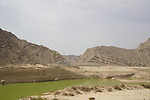 Some of the scenery leading into Jais Mountain during Stage 5 of the 2021 UAE Tour running 170km from Fujairah to Jebel Jais, Ras Al Khaimah, UAE. 25th February 2021.  <br /> Picture: Eoin Clarke   Cyclefile<br /> <br /> All photos usage must carry mandatory copyright credit (© Cyclefile   Eoin Clarke)