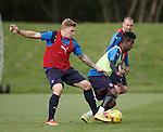 Martyn Waghorn and Gedion Zelalem