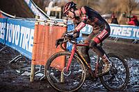 Toon Vandenbosch (BEL/Pauwels Sauzen-Bingoal)<br /> <br /> Elite Men's Race<br /> Belgian National CX Championships<br /> Meulebeke 2021<br /> <br /> ©kramon