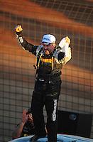 Dec. 10, 2011; Chandler, AZ, USA;  LOORRS pro 2 unlimited driver Greg Adler after winning round 15 at Firebird International Raceway. Mandatory Credit: Mark J. Rebilas-
